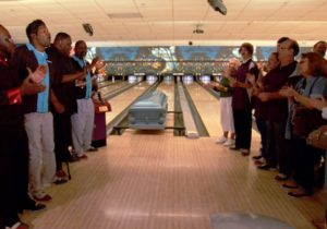 Funeral at a Bowling Alley